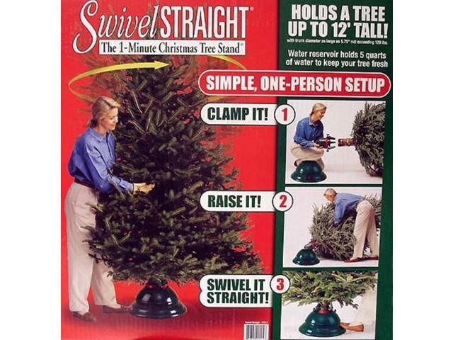 Swivel Straight 1-Minute Christmas Tree Stand - For Trees Up To 12' Tall #XTS-1
