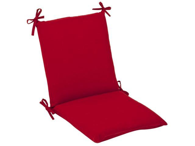 Outdoor Patio Furniture Mid Back Chair Cushion - Venetian Red