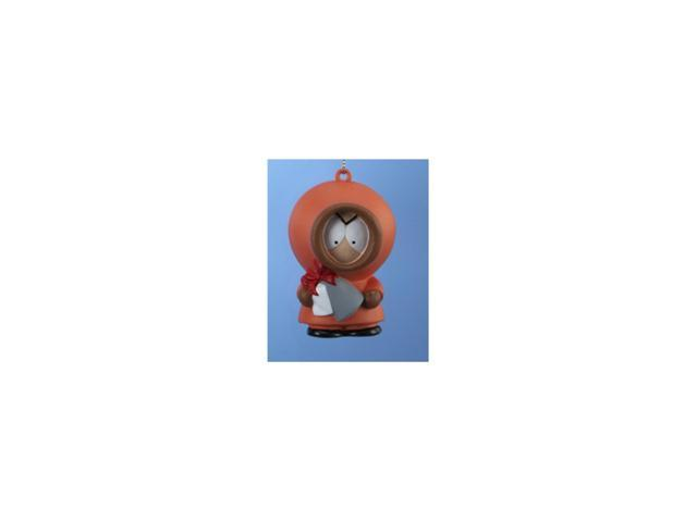 South Park Character Kenny with Beans Blow Mold Christmas Figure Ornament 2.75