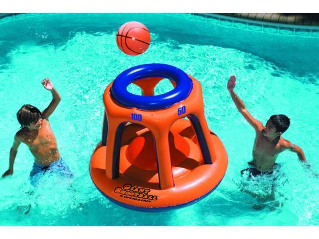 Water Sports Inflatable Giant Floating Shootball Swimming Pool Game