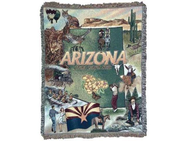 State of Arizona Tapestry Throw Blanket 50