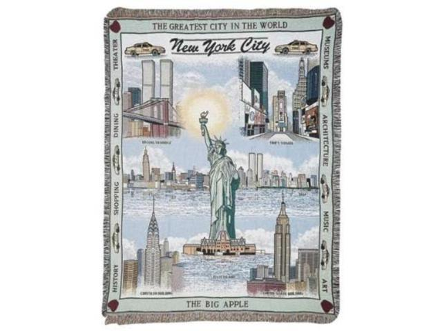 New York City Tapestry Throw Blanket 50