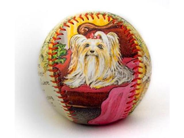 Limited Edition Yorkshire Terrier Unforgettaball Collectible Baseball