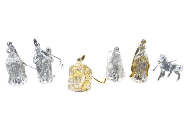 Club Pack of 432 Jesus, Wise Men. Mary, Joseph Nativity Christmas Ornaments