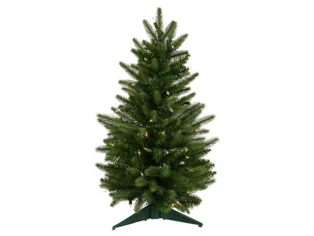 2' Pre-Lit Frasier Fir Artificial Christmas Tree - Clear Lights