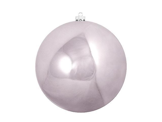 Shiny Purple Lavender Commercial Shatterproof Christmas Ball Ornament 10