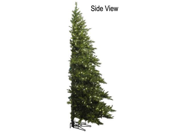 Wall Hanging Christmas Tree With Lights : 7.5 Pre-Lit Westbrook Pine Wall Hanging Artificial Christmas Tree Clear Lights - Newegg.com
