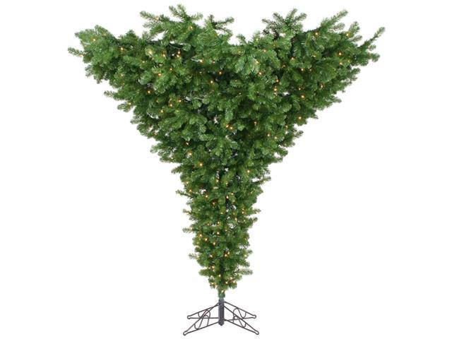 7.5' Pre-Lit American Upside Down Artificial Christmas Tree - 650 Clear Lights