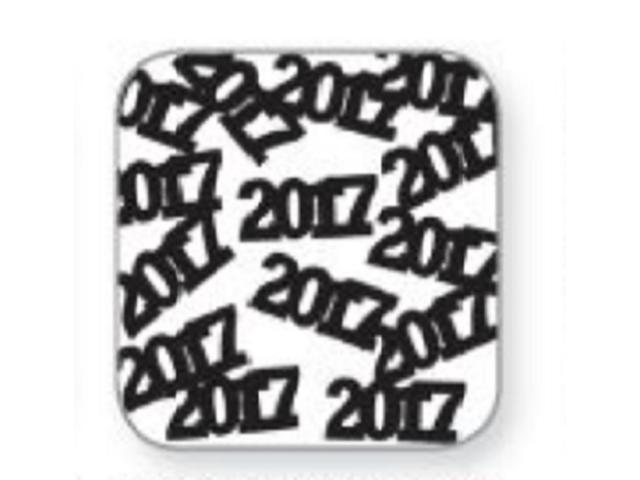 Club Pack of 12 Jet Black New Year's