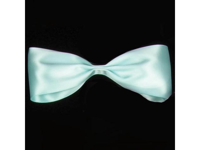 Turquoise Blue Double Face Satin Craft Ribbon .25