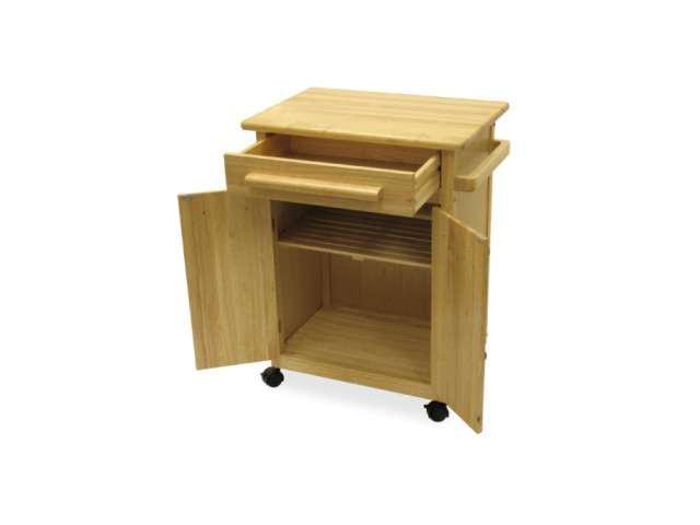 Kitchen Cart with One Drawer Cabinet