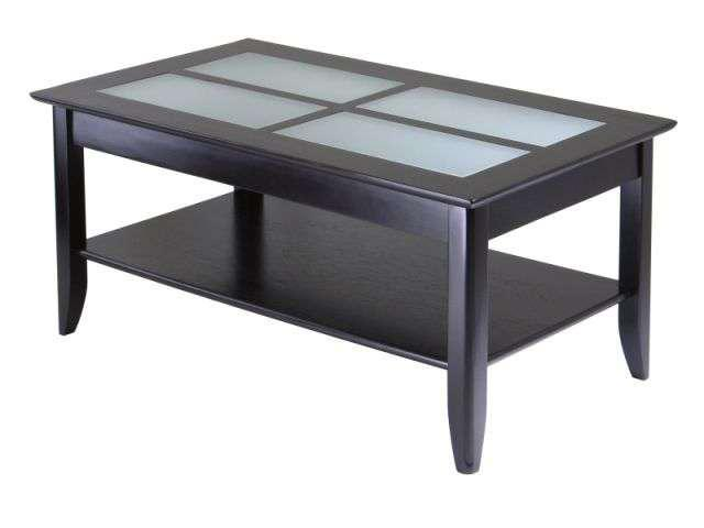 Syrah Coffee Table with Frosted Glass