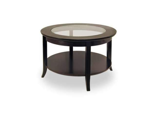 Genoa Coffee Table Glass Inset and Shelf