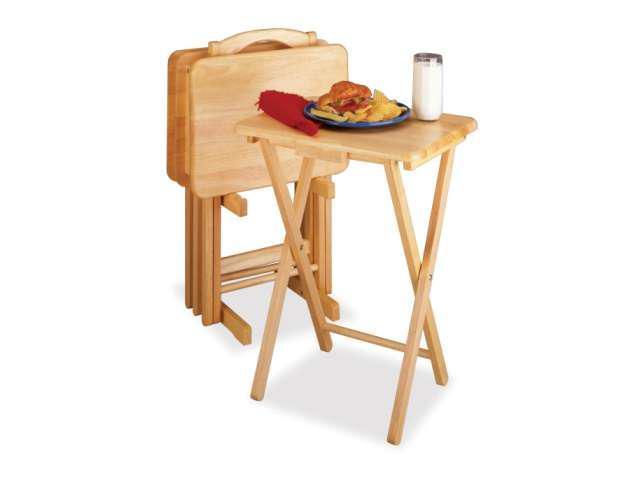 5 Piece TV Table Set Rectangular