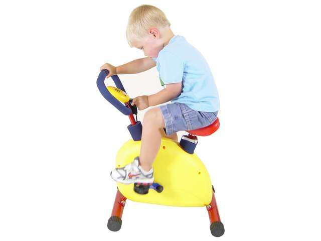 PRIMARY COLORS Fun Exercise Bike For Kids