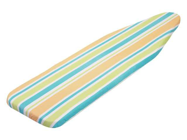 stripes superior ironing board cover with pad