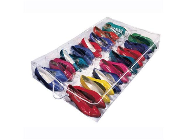 Clear Under Bed Shoe Storage - Clear by Richards Homewares
