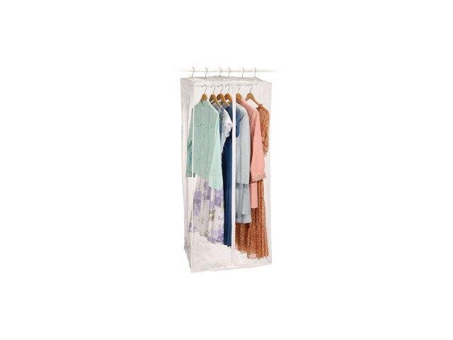 Clear Clearly Visible Jumbo Dress Bag