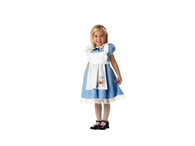 Little Alice In Wonderland Toddler Costume M3-4
