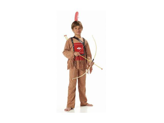Running Bull Indian Child Costume size:Small