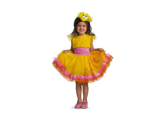 Child Frilly Big Bird Dress Costume Disguise 24897