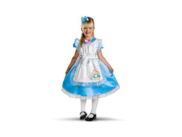 Disney Alice in Wonderland - Alice Deluxe Toddler / Child Costume
