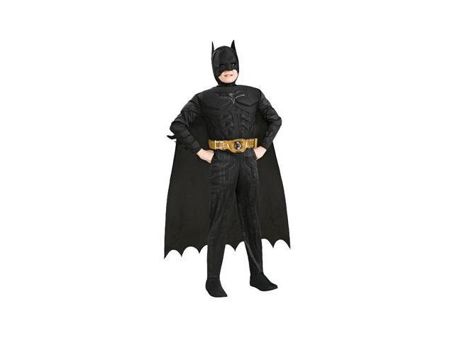 Child Deluxe Dark Knight Batman Costume Rubies 883104 881290