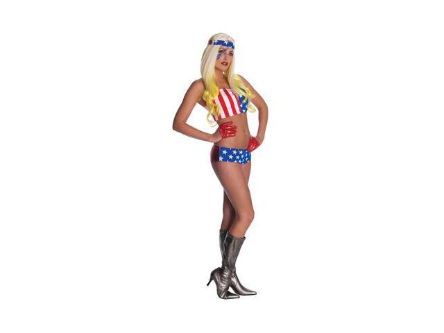Lady Gaga American Flag Outfit Adult Costume
