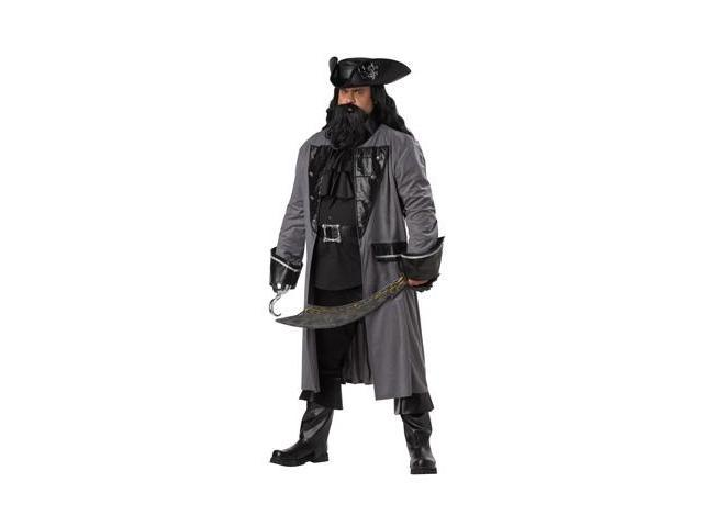 Plus Size Blackbeard Men's Costume