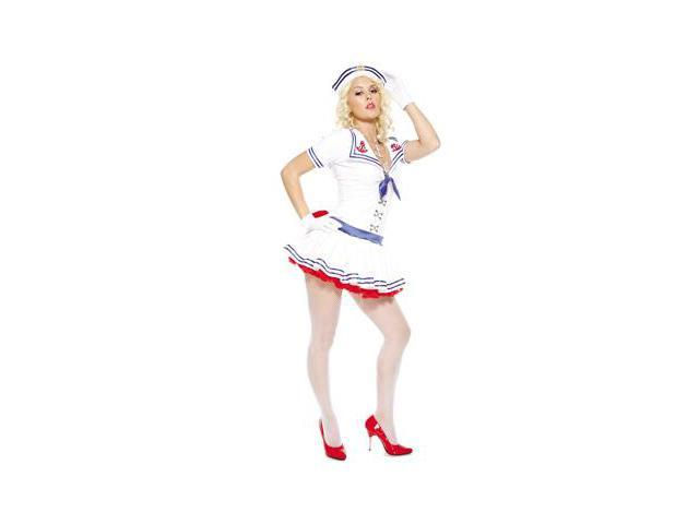 Sailor Sweetie Adult Costume X-Small-Small