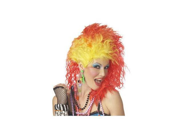 Red and Yellow True Colors Wig