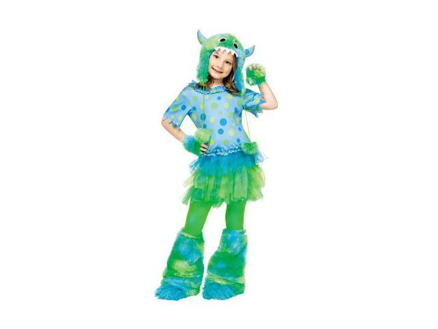 Monster Miss Toddler Costume Size:2T