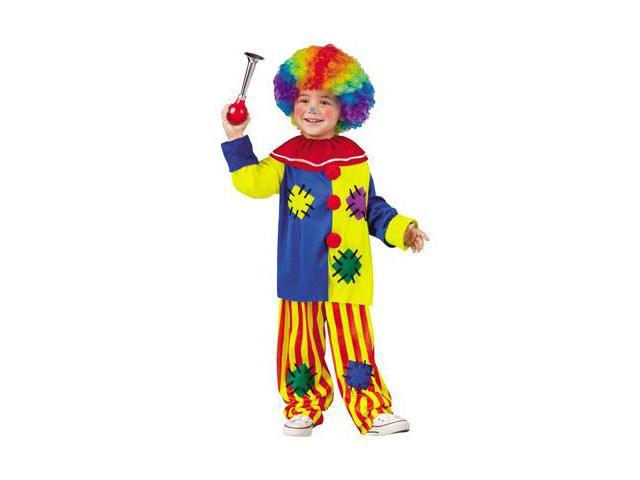 Big Top Clown Toddler Costume Size:2T