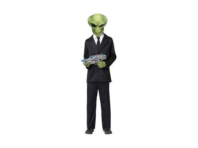 Child Alien Agent Costume California Costumes 350
