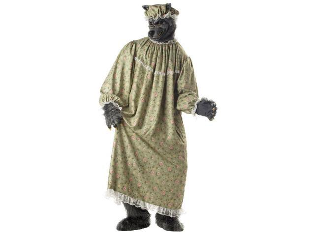 Adult Deluxe Wolf Granny Costume California Costumes 1047