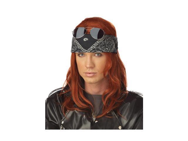 Hollywood Rocker Costume Wig (Auburn)
