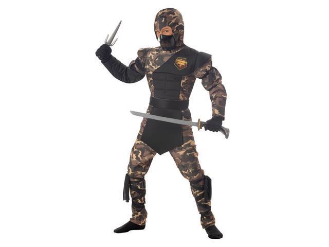 Special Ops Ninja California Costumes 326