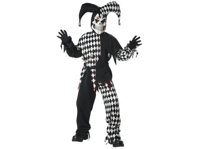 Child Black Evil Jester Costume California Costumes 217
