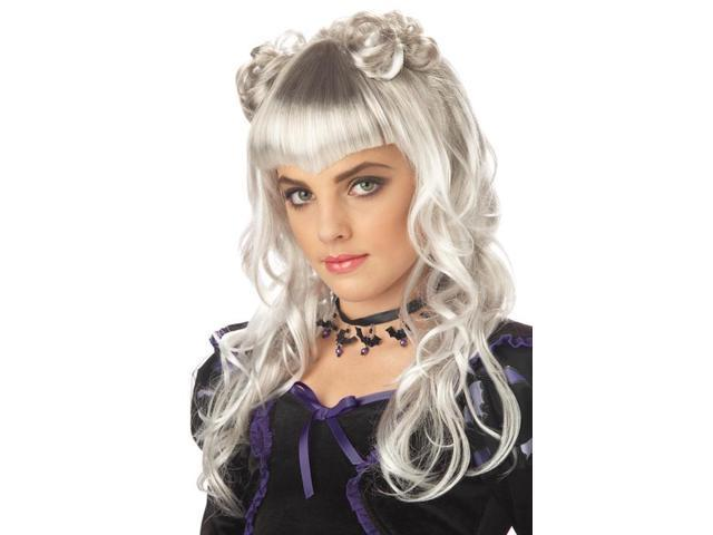 Child and Teen Moonlight White Wig
