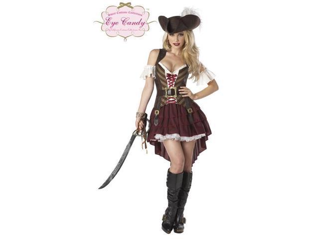 Captain Pirate Swashbuckler Costume