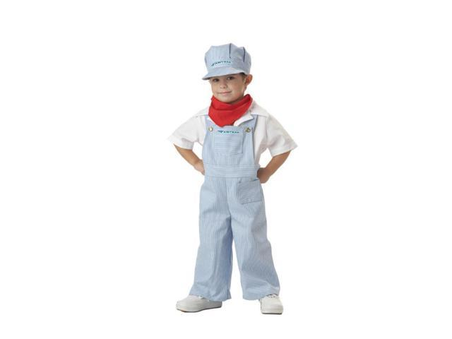 Child Amtrak Train Engineer Costume California Costumes 49