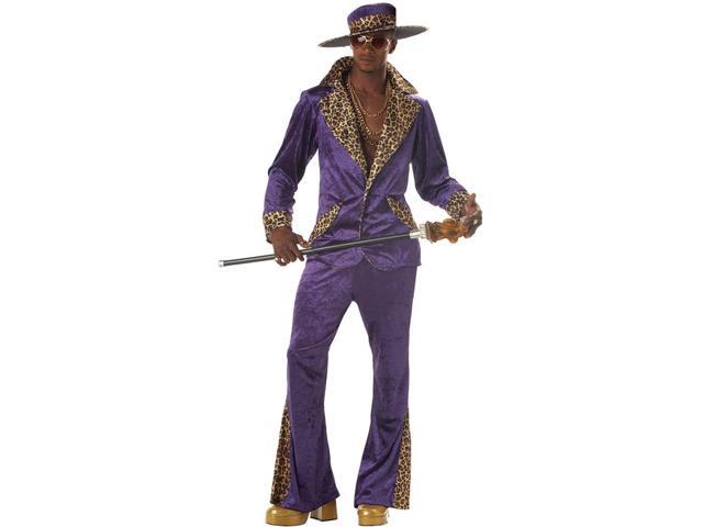 Adult Purple Pimp Costume California Costumes 839