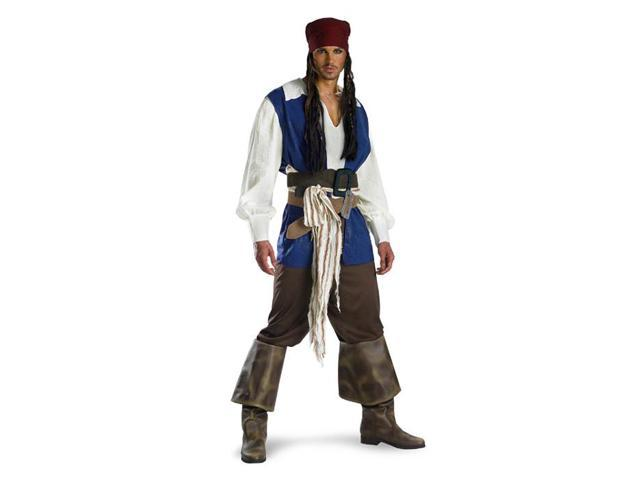 Captain Jack Sparrow Adult Costume Disguise 5101