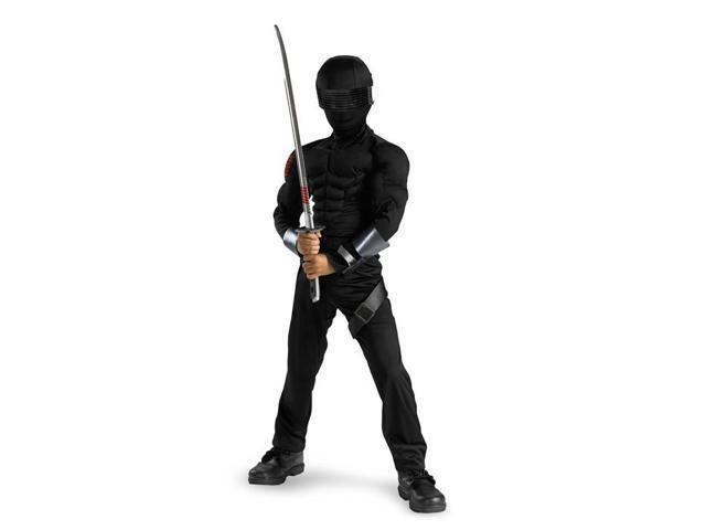 Child Deluxe G.I. Joe Snake Eyes Costume Disguise 50372