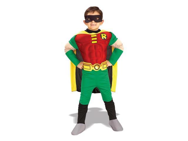 Teen Titans Deluxe Muscle Chest Robin Toddler/Child Costume
