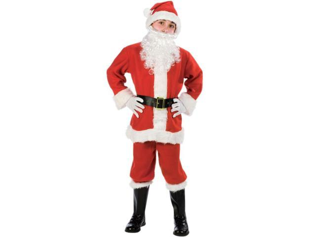 Child Santa Suit Costume FunWorld 7560