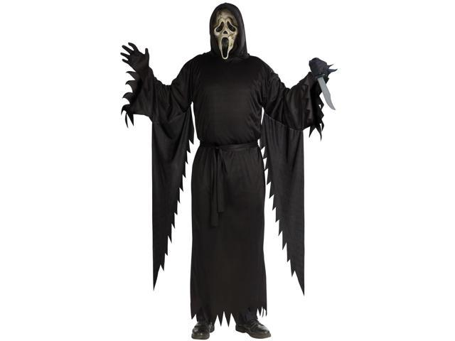 Mens Zombie Ghost Face Costume