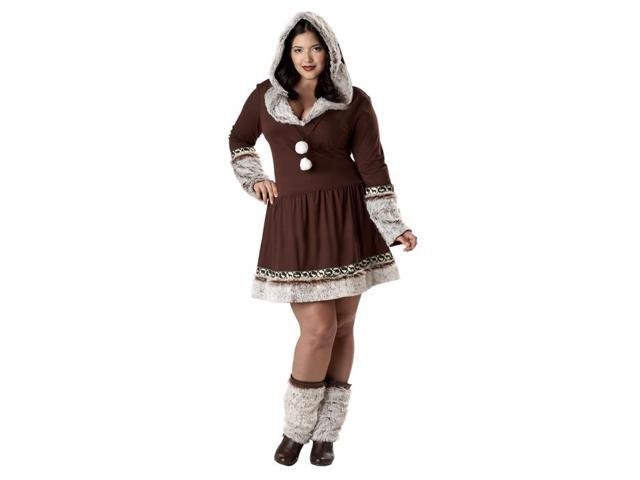 Eskimo Kisses Plus Size Costume