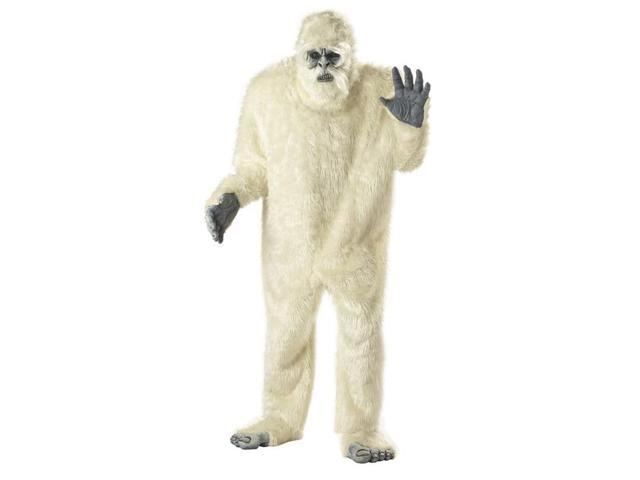 Adult Deluxe Abominable Snowman Costume California Costumes 1082