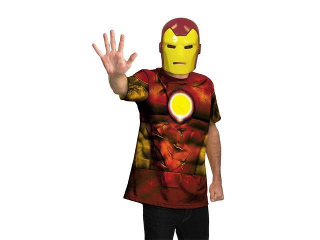 Marvel Universe Iron Man Shirt Child/Adult Costume